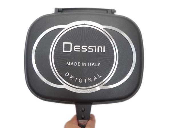 Dessini Italy Double Sided Grill Pan 36cm Black Lazada Ph
