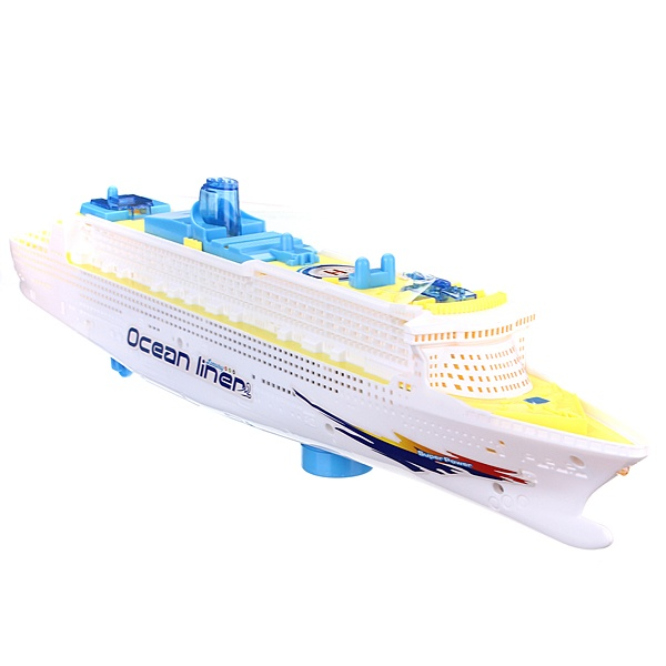 Ocean Liner Cruise Ship Boat Electric Toy Flashing Led Lights - Cruise ship sound effects