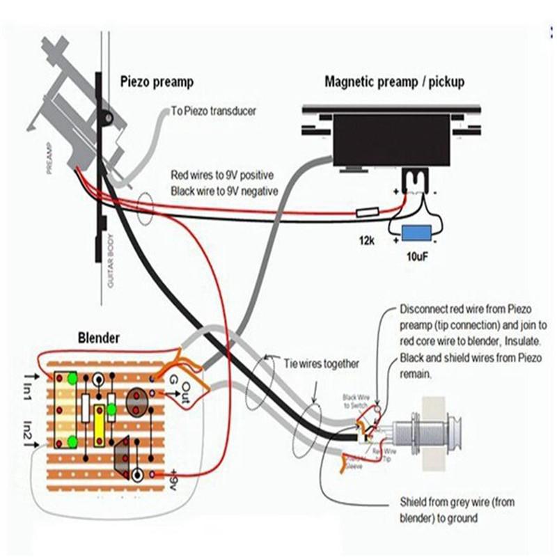 Piezo Wiring Diagram - Merzie.net