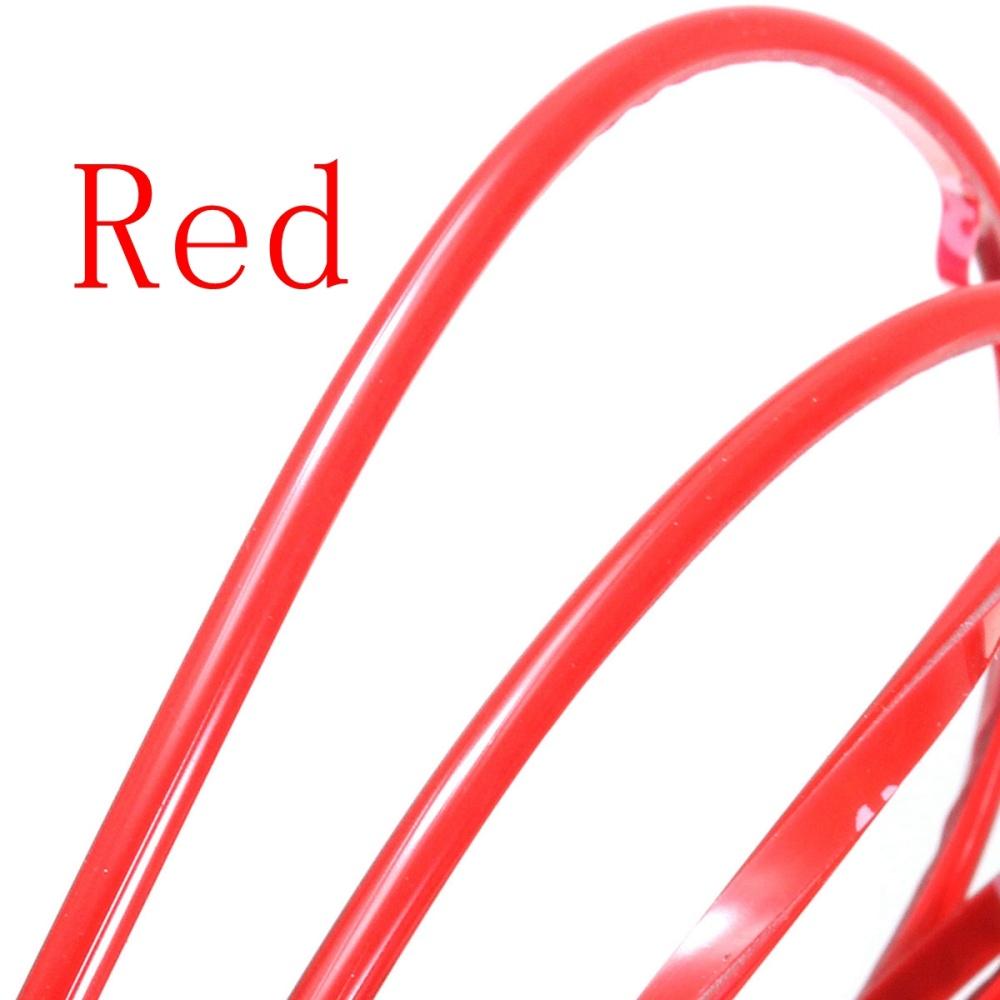 5m red diy flexible trim car interior exterior moulding strip decorative line lazada ph. Black Bedroom Furniture Sets. Home Design Ideas