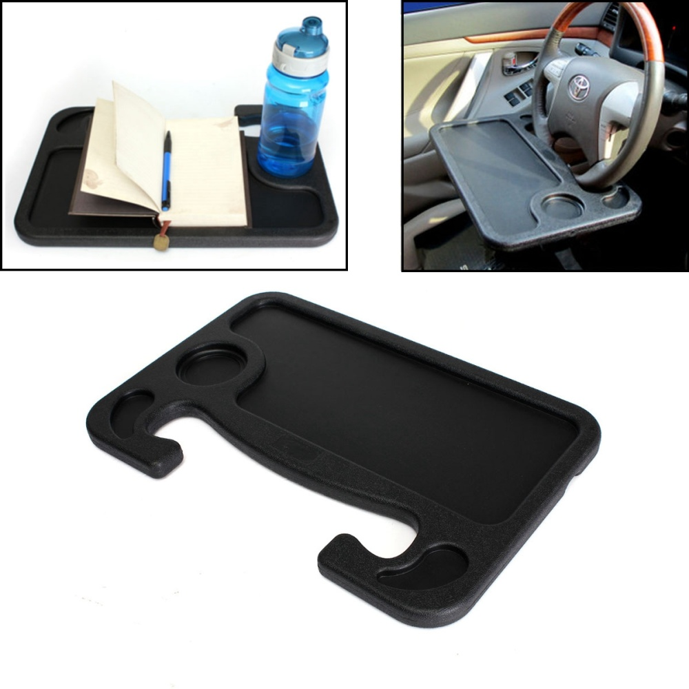 Car Van Laptop Travel Tray Table Cup Holder Multi Purpose