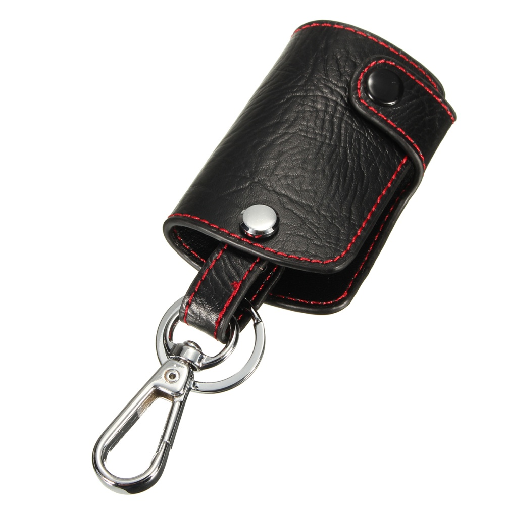 Product details of leather 5buttons remote key fob cover case holder for cadillac cts ats escalade