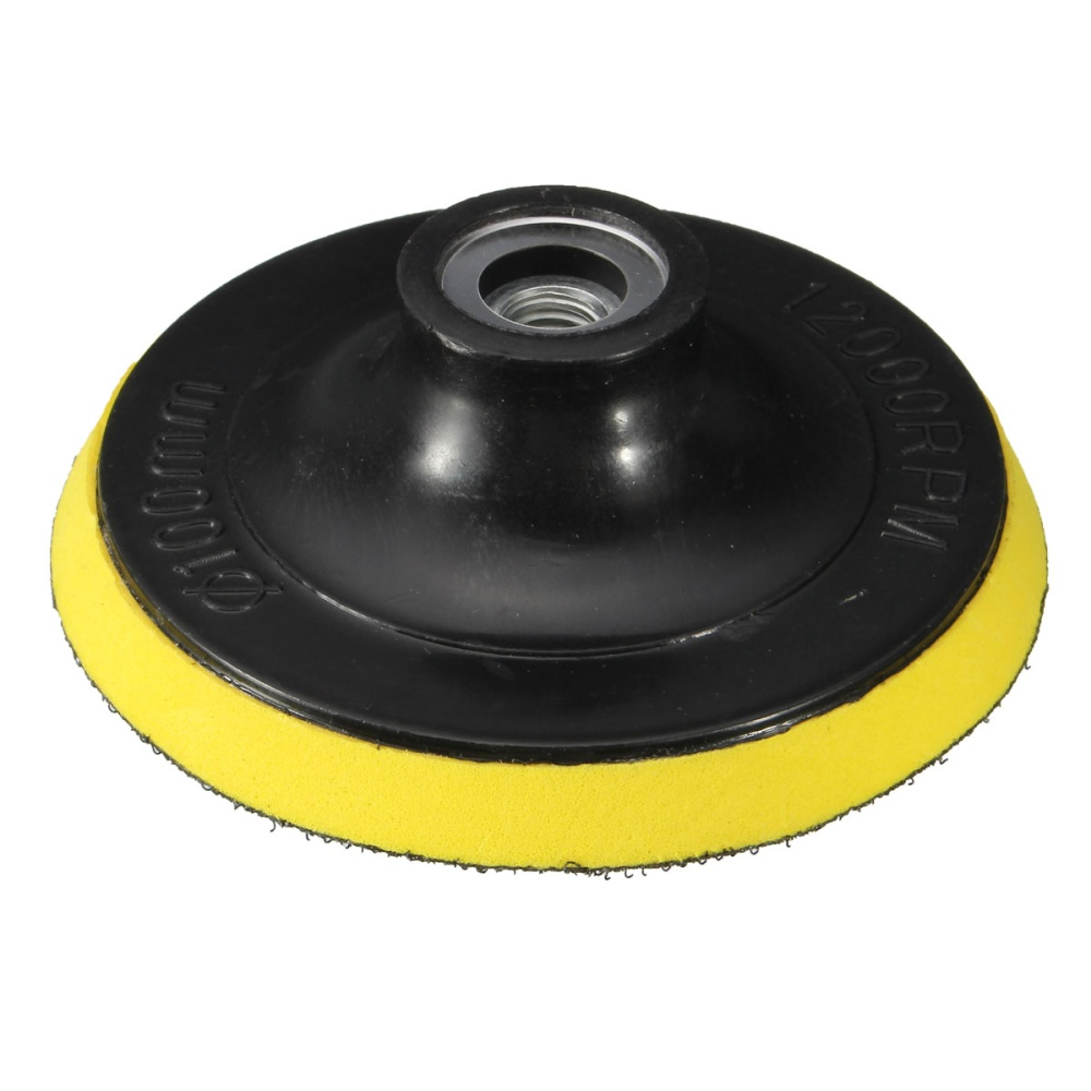 4 Inches 100mm Polisher Bonnet Backing Pad Angle Grinder
