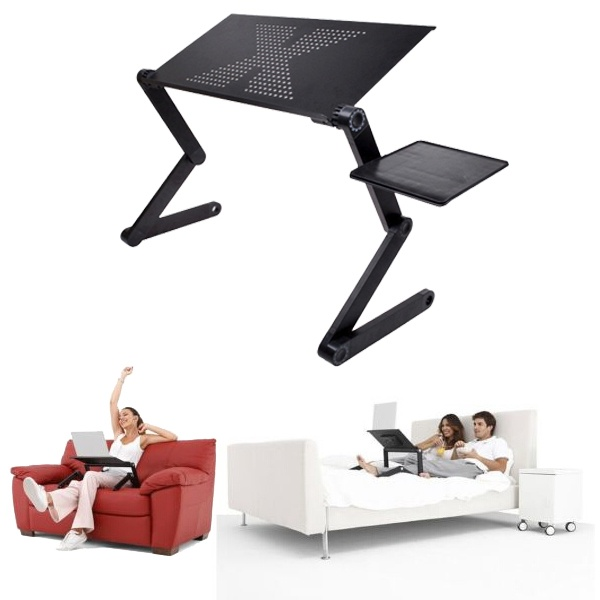 Foldable Laptop Desk Computer Table Stand Tray for Sofa Lazada PH