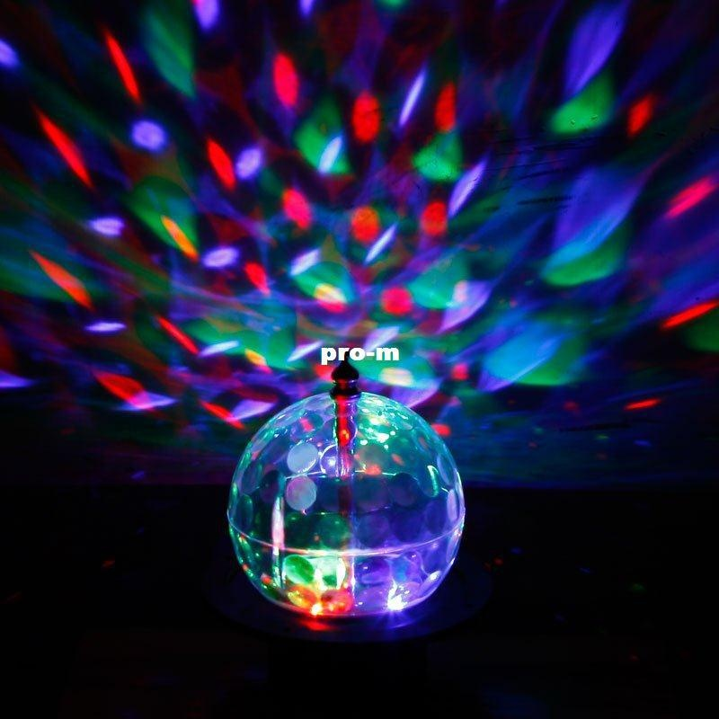 Xtar Rotating Disco Ball Led Party Lights Clear White