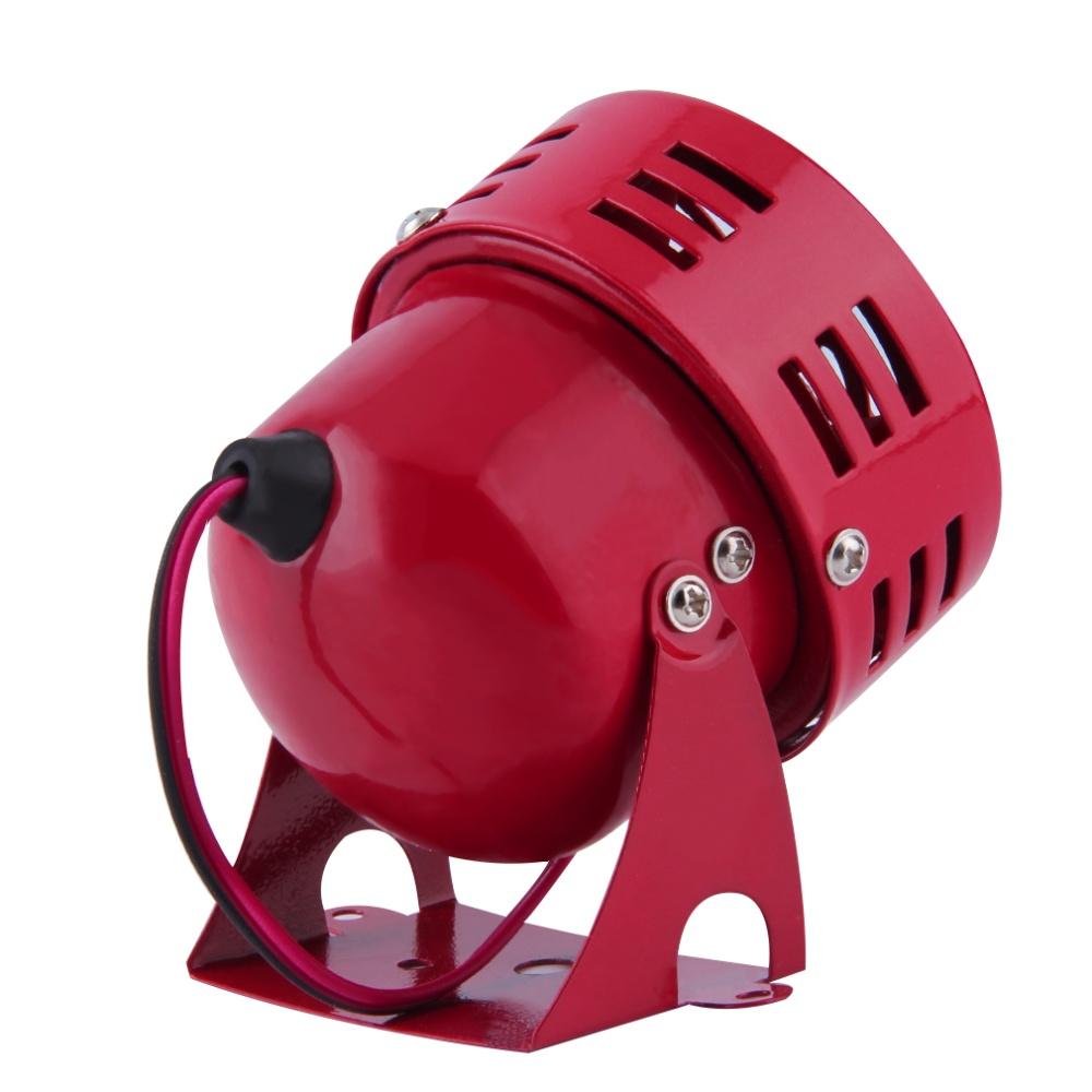Allwin New Red 12v Automotive Air Raid Siren Horn Car