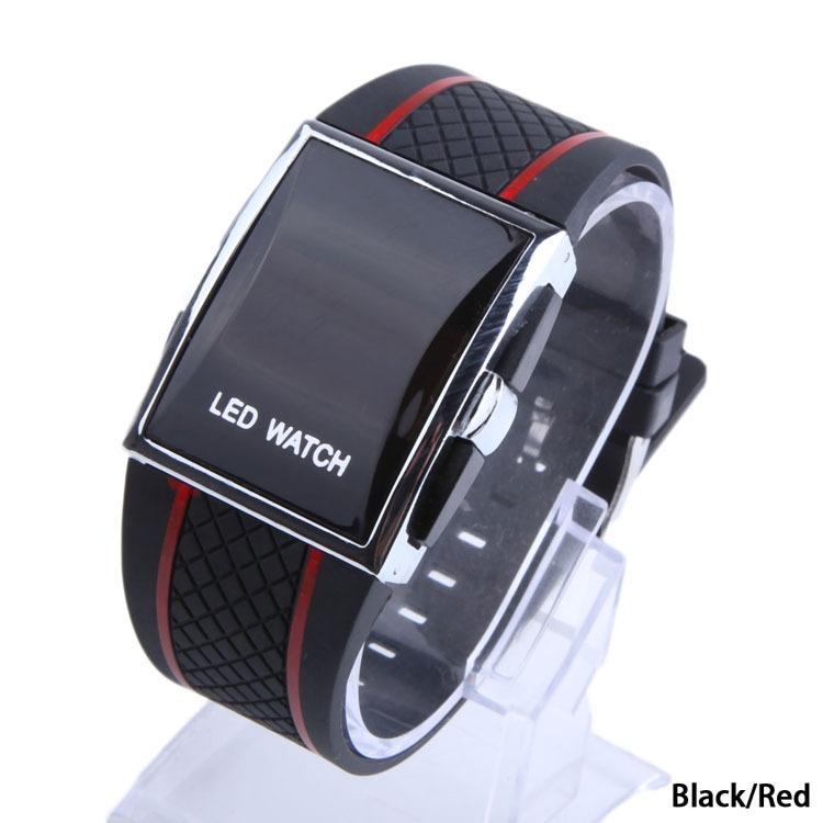 Hequ Mens Man Luxury Date Digital Sport Led Watch (Black
