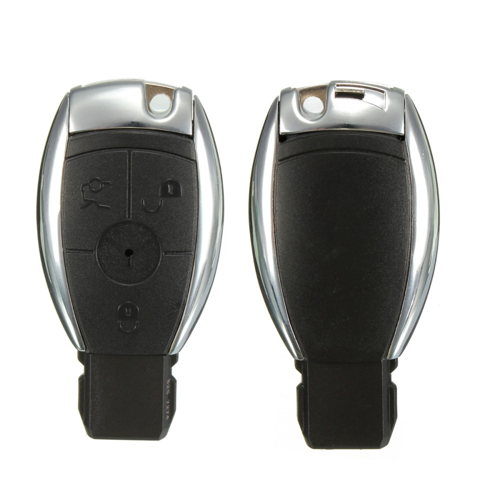 3 Button Remote Key Case Shell For Mercedes Benz C E G R S