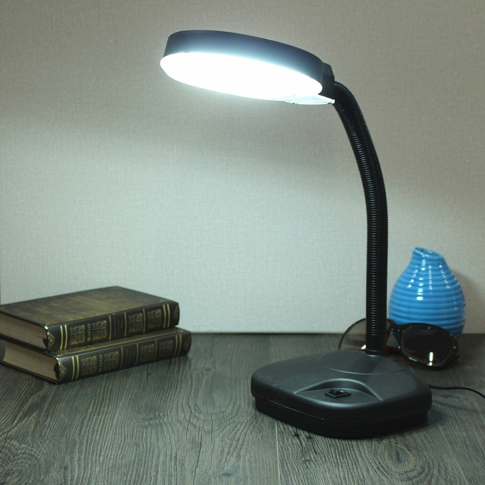 Flexible Reading Table Desk Study Light Lamp With
