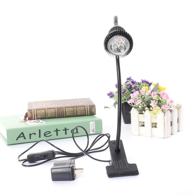 S f led desk lamp table bedside study reading light clip for 12v led table lamp