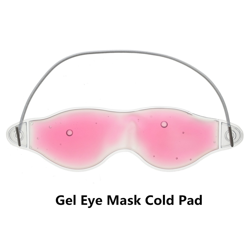 Heat Cool Gel Eye Mask Heat Cool Soothing Tired Eyes Headache Pad Lazada Ph