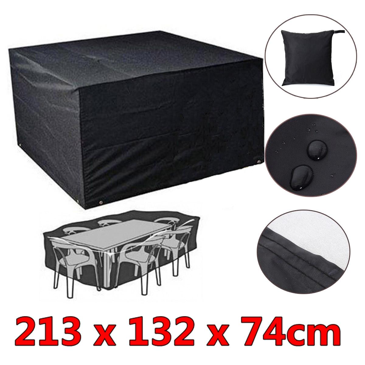 Waterproof Garden Furniture Rain Cover Shelter Rattan For