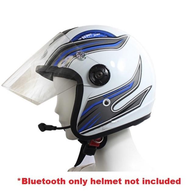 sec 00378 motorcycle helmet bluetooth headset lazada ph. Black Bedroom Furniture Sets. Home Design Ideas