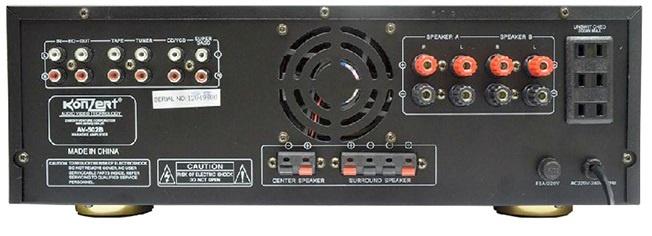 Konzert AV-502B Amplifier (Black)   Lazada PH