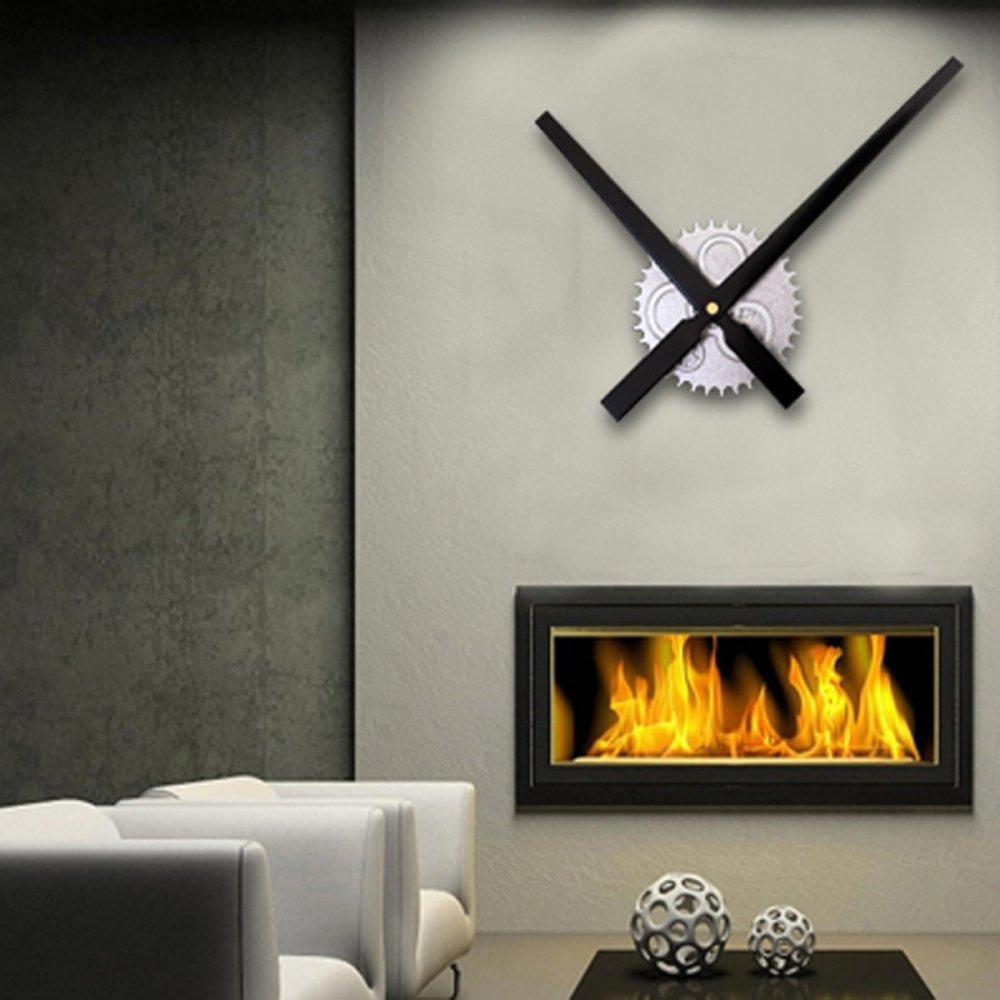 Big Diy Clock Mechanism 11 8 Hands Movement Retro Gear Wall Clock Home Decor Lazada Ph