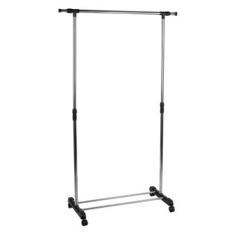 the diy double pole clothes rack is a multi purpose e saver that can serve you