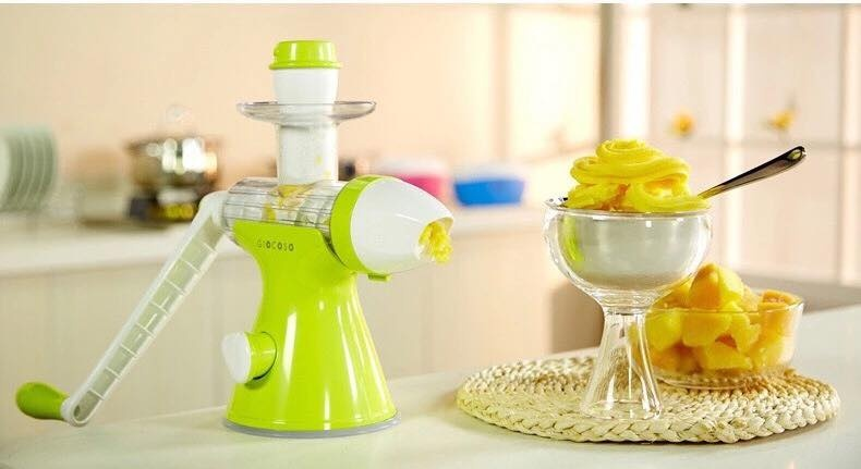 Making Ice Cream With Slow Juicer : Giocoso 2 In 1 Slow Juicer and Ice Cream Maker (Fruit Green) Lazada PH