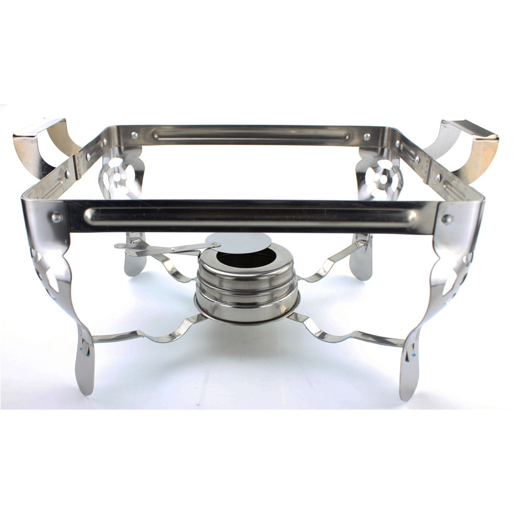Food Warmer Holder ~ Unibest stainless steel food warmer chafing dish with fuel