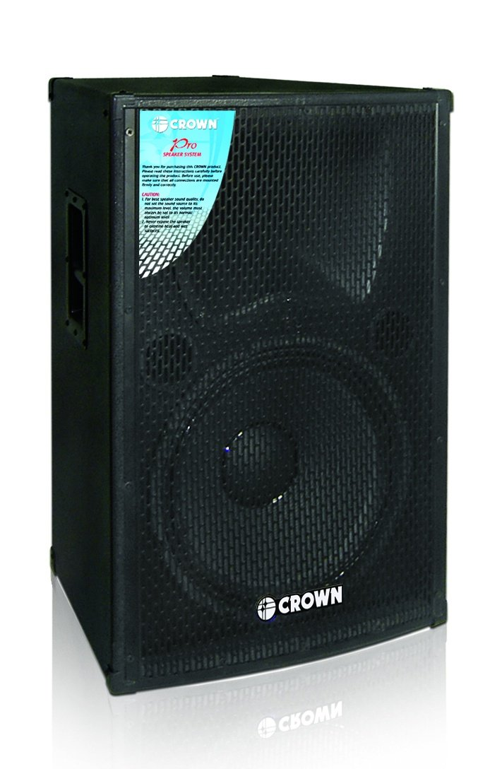 Crown Bf X151 15 2 Way 700w Instrumental Speaker Black