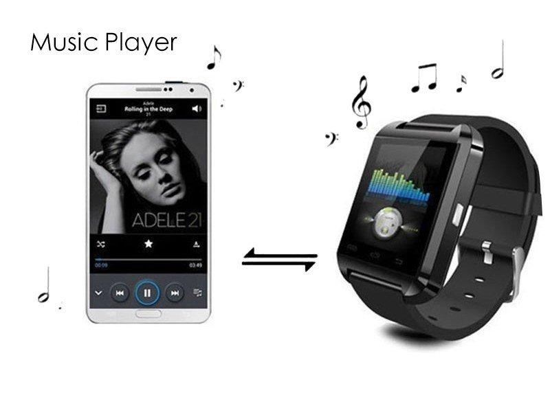 Kingdo U8 Bluetooth Smart Watch Black Lazada Ph