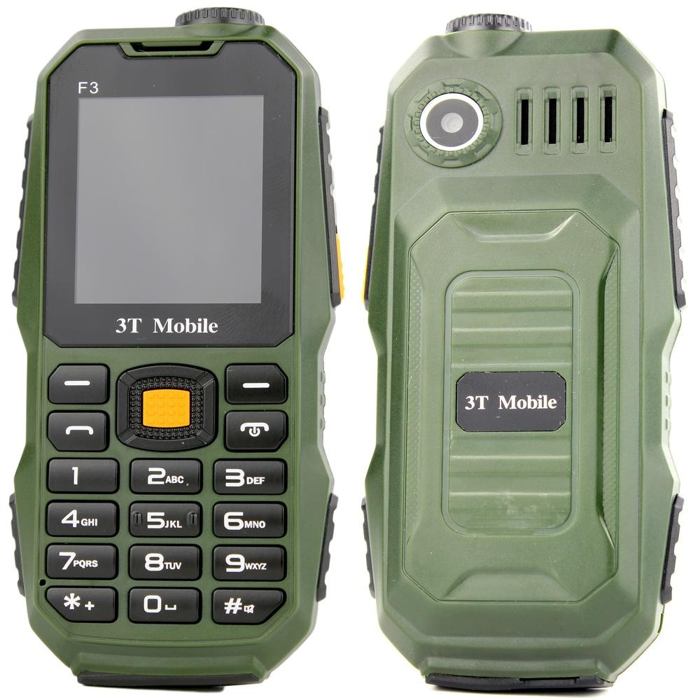 3T Mobile F3 Basic Phone (Army Green) | Lazada PH