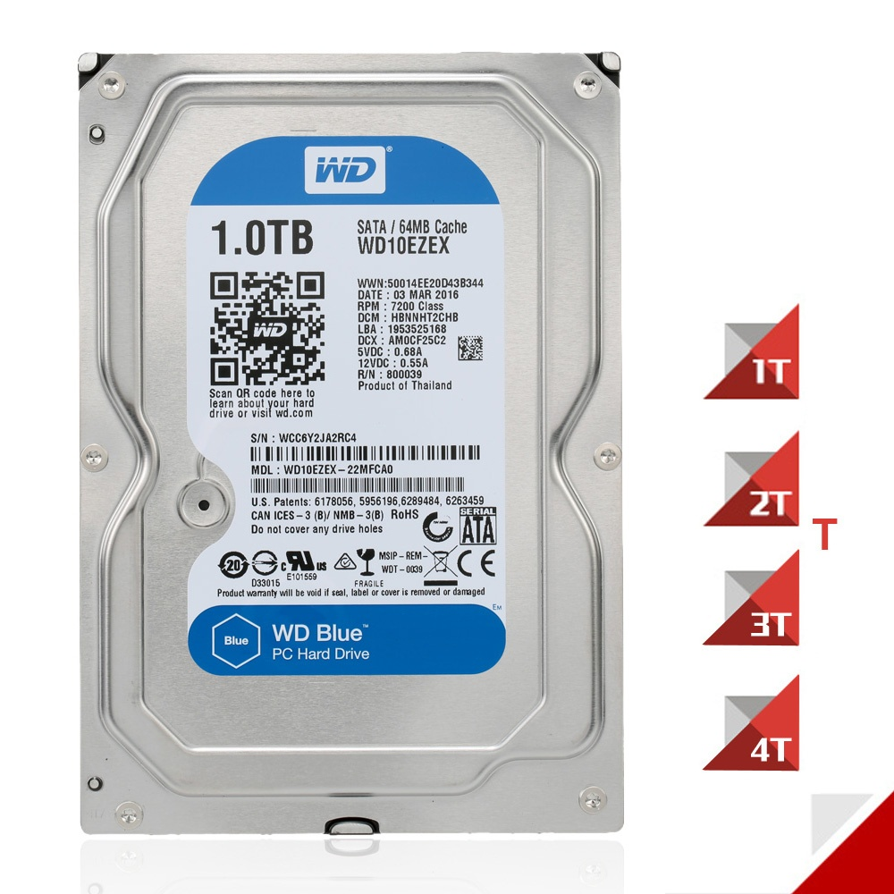 Philippines Western Digital Wd Blue 4tb Desktop Hdd Internal Hard Orico Phi 35 35inch Protector The Seagate Is One Disk Drive For All Your Applications With Large Capacity Everyday And Computing