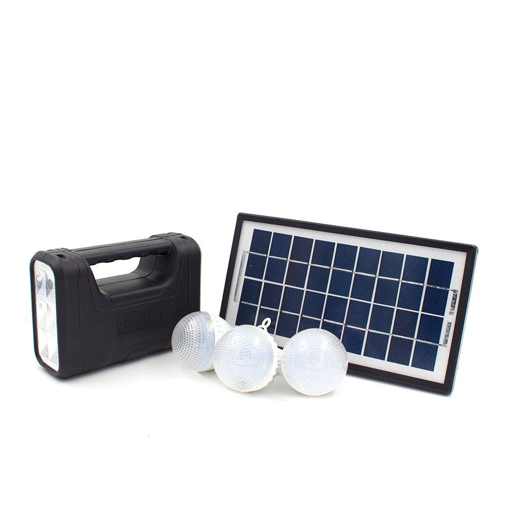 Solar Lights Lazada: GDlite GD8017B Solar Lighting System