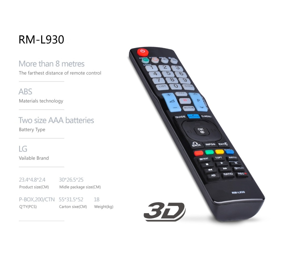 lg tv remote control. product details of huayu rm-l930+ lg lcd/led tv remote control lg tv