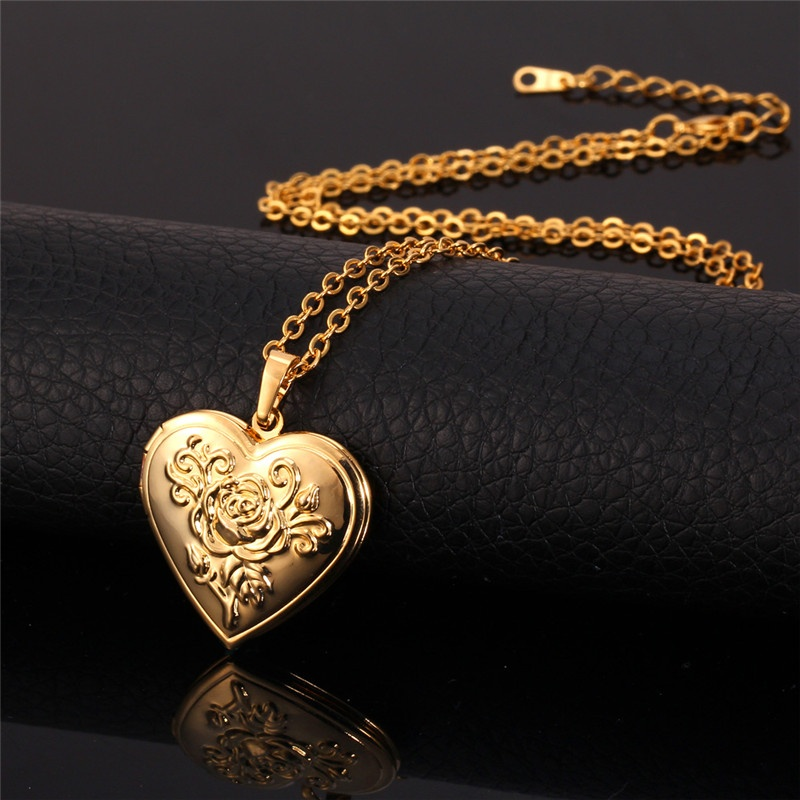 set women necklace memories pendant single for gold pendants jewellery line real pearl special plated my