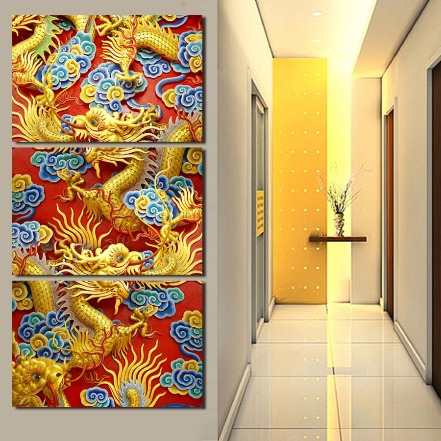 3 Panels Artwork Canvas Painting Wall Art Canvas Paintings For ...