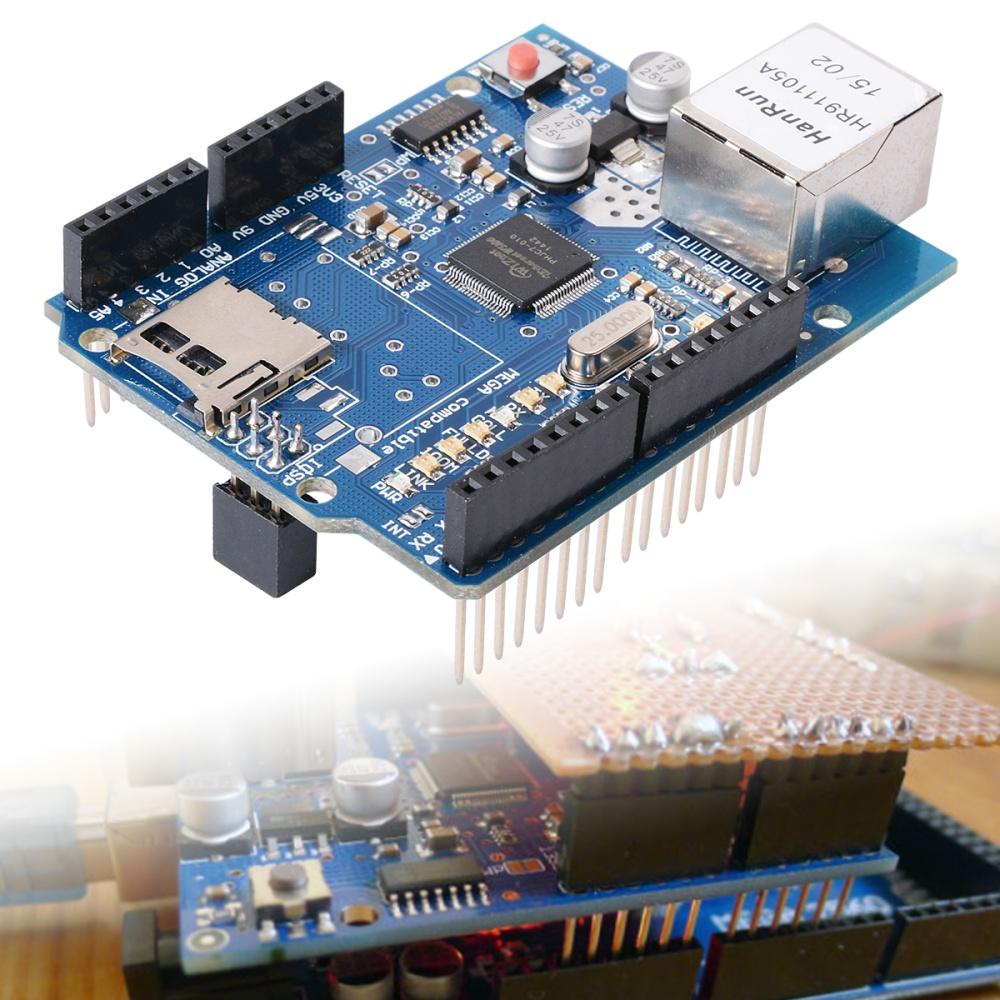 Xcsource w ethernet shield for arduino main board