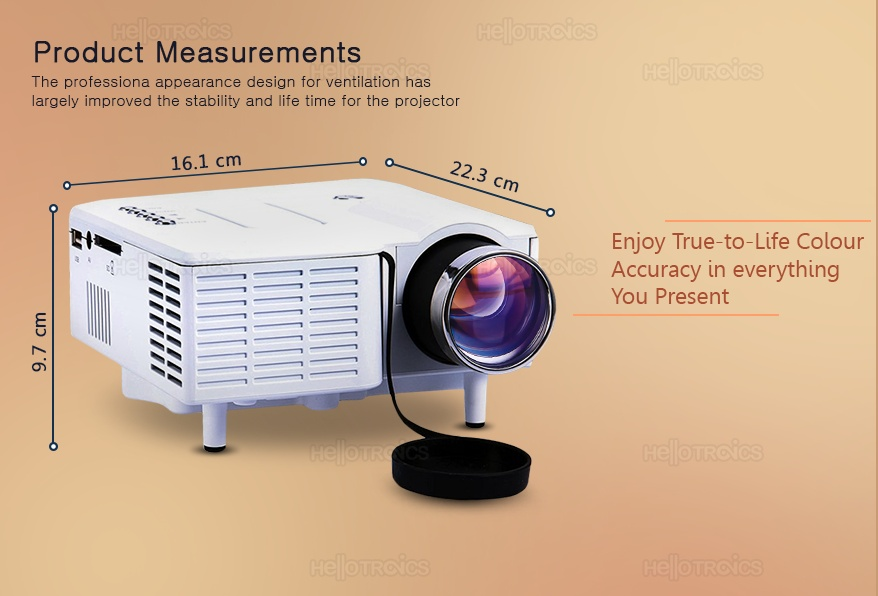 Uc28 unic portable mini ultra hd projector cinema for What s the best pocket projector