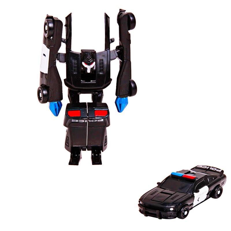Toys For Boys 5 7 Transformers : Asenso robot car transformer action figure piece set