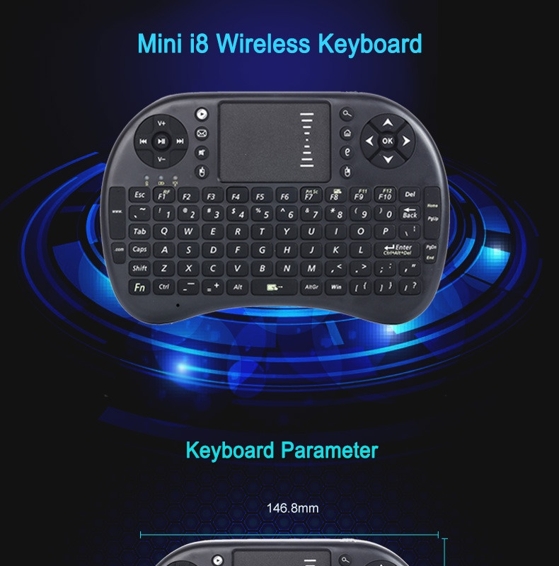 ... 2 4g Rf Rii Mini I8 Wireless Keyboard Touch Pad Backlit Source photo 20160510 110109 020