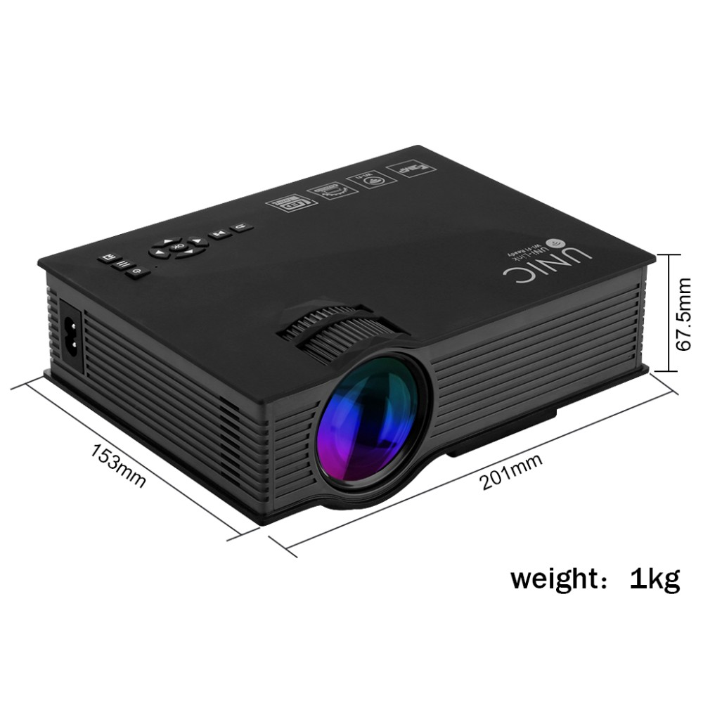 Unic uc46 mini portable projector with wifi connection for What s the best pocket projector