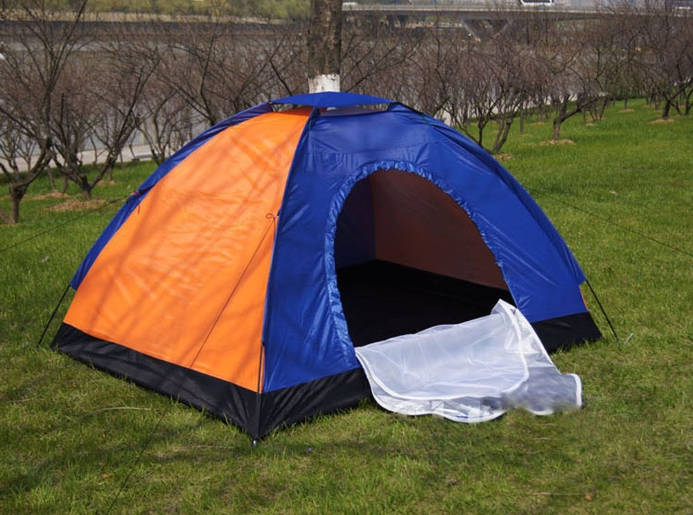 image & Lightweight 4-6 Person Camping Backpacking Tent With Carry Bag ...