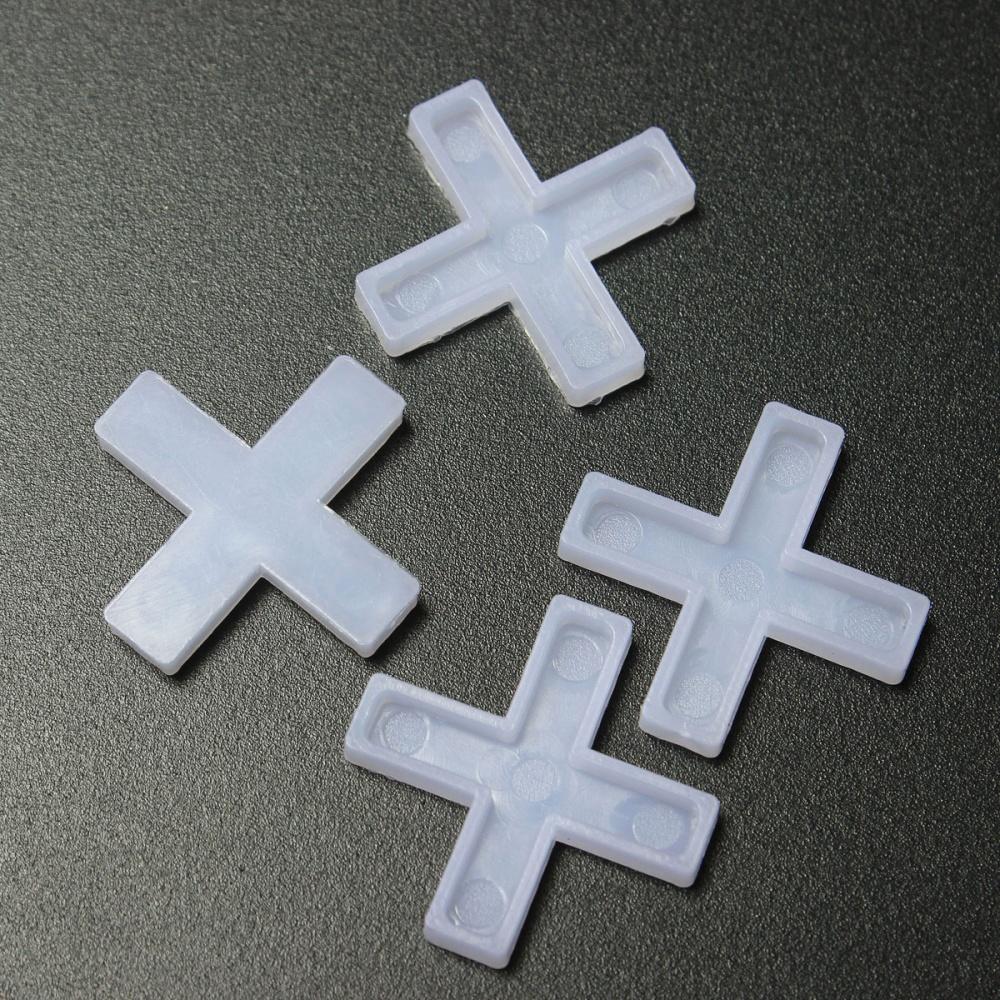 100x Wall Floor Tile Spacers Cross 25mm Tiling Ceramic Tilers