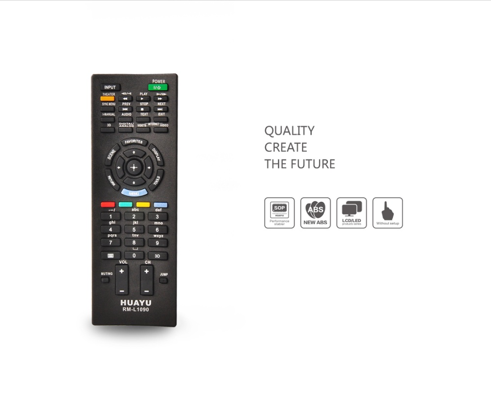 Philippines Antel Rm L1090 Remote Control For Sony Lcd Led Tv Universal