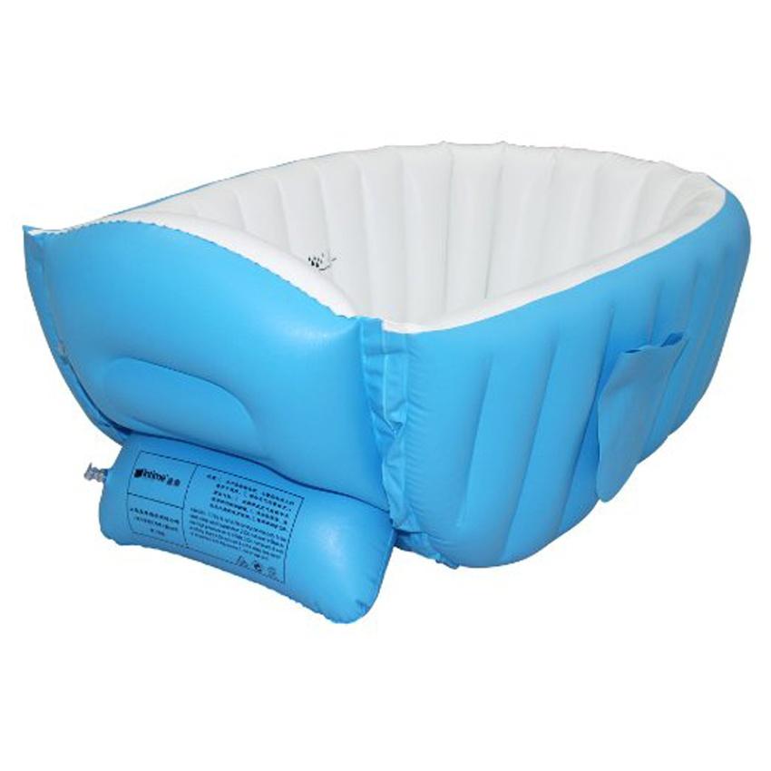 Intime Plastics Yt 226a Inflatable Baby Bath Tub Blue