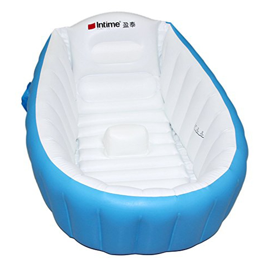 intime plastics yt 226a inflatable baby bath tub blue lazada ph. Black Bedroom Furniture Sets. Home Design Ideas
