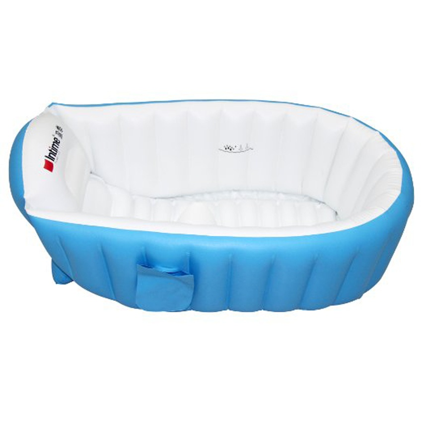 Intime Plastics YT-226A Inflatable Baby Bath Tub (Blue) | Lazada PH