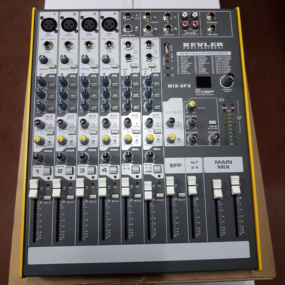 Kevler MIX-8FX Professional Mixer | Lazada PH