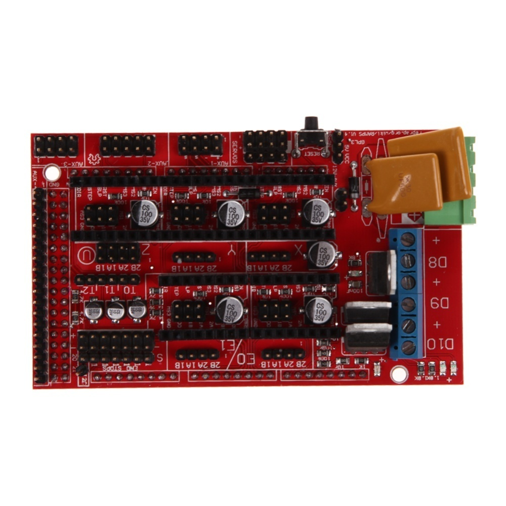 3d Printer Kit Ramps 14 Mega2560 A4988 Lcd 12864 Controller Board Hp 685 Black Ink Cartridge Cz121aa Further More All Actions Like Calibration Axes Movements Can Be Done By Just Using The Rotary Encoder On Smart