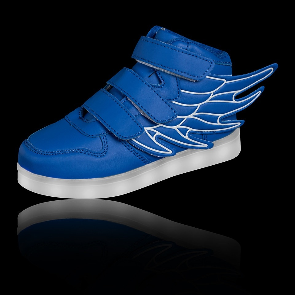 sneakers trainers flashing uk casual led shoes boys up kids light usb itm girls
