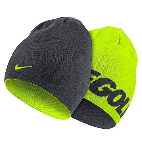 cf78345604a Nike Reversible Knit Beanie - ANTHRACITE VOLT VOLT - intl Philippines