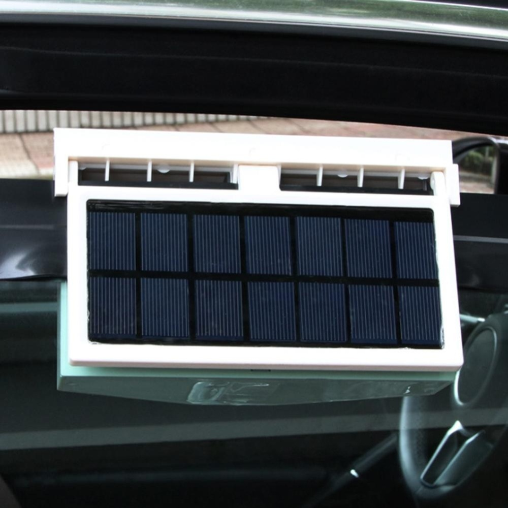 Solar Powered Car Interior Auto Air Vent Cool Fan Cooler