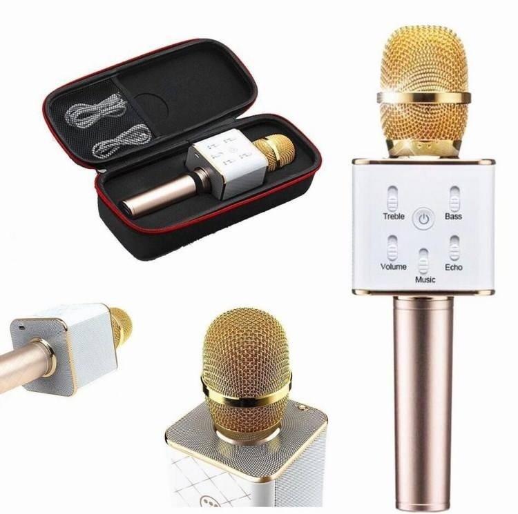 Wireless Bluetooth Handheld Microphone & HiFi Speaker Karaoke KTV Q7