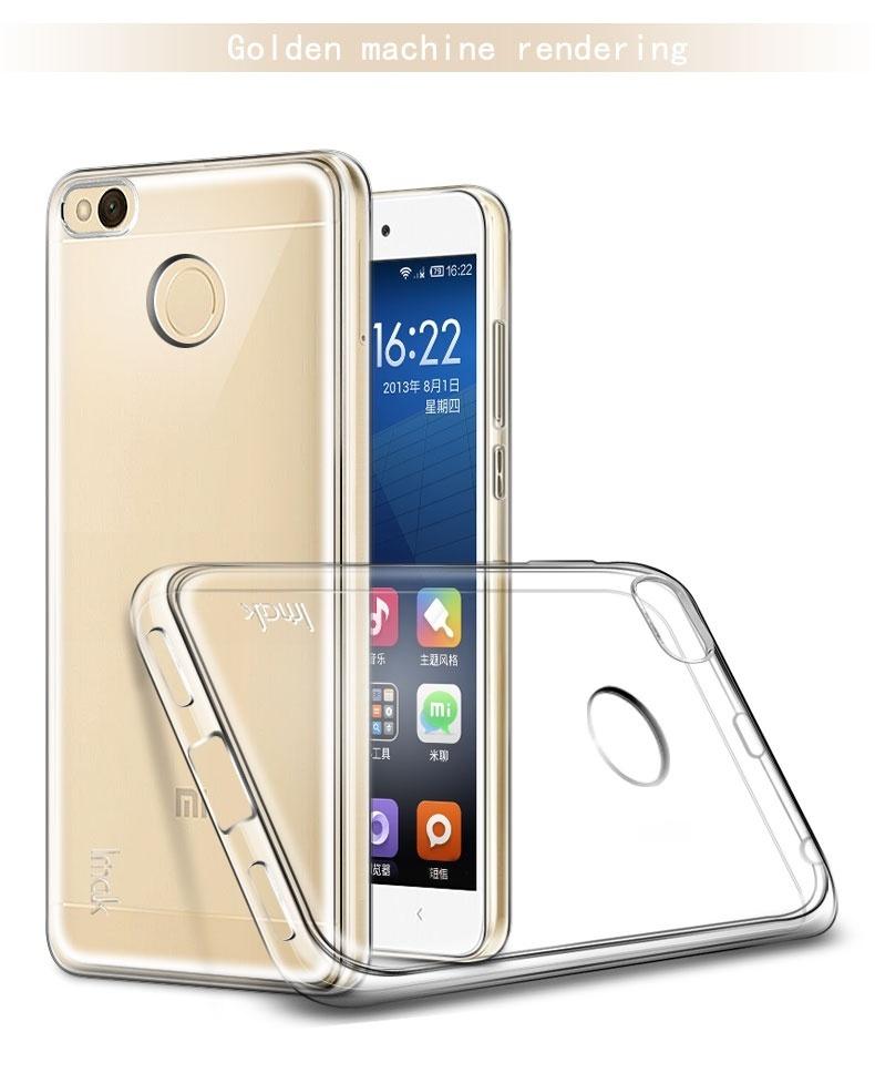 Product Description For Xiaomi Redmi 4x Imak Case Ultra Thin Soft Tpu Gel Clear Transparent Case