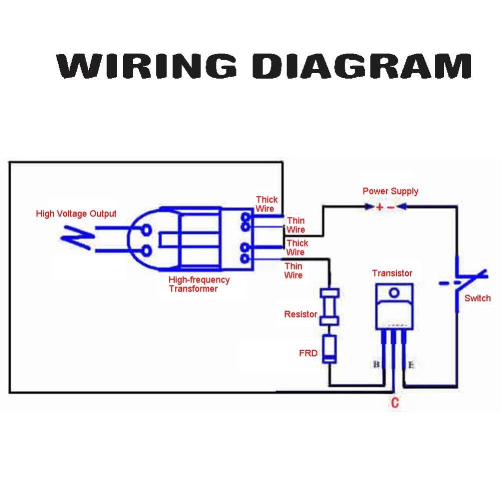 2 Sets 15KV High Voltage Generator Inverter Arc Igniter Coil Module  Disassembled Parts - intl
