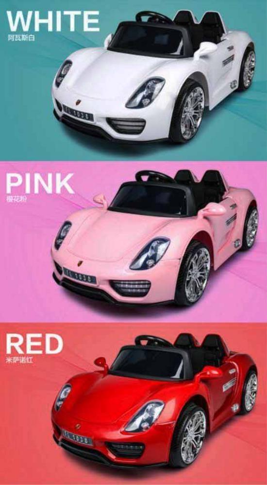 porsche car 918 spyder edition 6v ride on car for kids boys and girls pink lazada ph. Black Bedroom Furniture Sets. Home Design Ideas